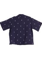 Sam & Seb - Printed anchor shirt