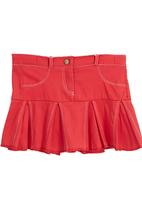 Sam & Seb - Pleated skirt with stitch detail