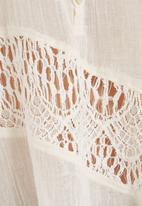 RVCA - Arrowic woven cami Milk