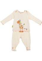 Hooligans - Giraffe appliqué set Multi-colour