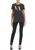 RVCA - Serif loose-fit T-shirt