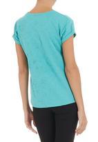 STYLE REPUBLIC - Embossed boxy T-shirt
