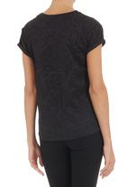 STYLE REPUBLIC - Embossed boxy T-shirt