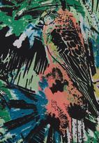MICHELLE LUDEK - Chiffon parrot-print tunic Multi-colour