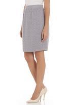 Metalicus - Central park mini skirt Grey