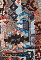 Carly Tod - Aztec-print scuba top Multi-colour