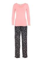 edge - Printed bow pyjama pack Multi-colour