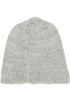 Sticky Fudge - Knitted beanie Stone/Beige