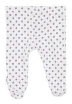 Sticky Fudge - Polka-dot printed leggings White