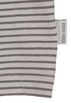 Sticky Fudge - Striped top Grey
