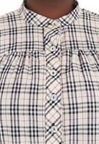 Megalo - Checked tunic Multi-colour
