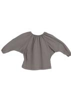 Sticky Fudge - Batwing top Dark Grey