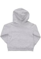 Sticky Fudge - Branded hoodie with front pocket Grey