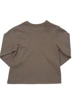 Sticky Fudge - Long-sleeved top Brown