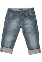 Sticky Fudge - Jeans with 5 pockets  Blue (mid blue)