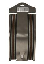 Sticky Fudge - Striped suspenders Grey