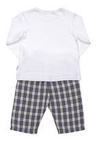Sticky Fudge - Pyjama set Blue/White