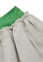 Adeva - Tulle skirt Grey (pale grey)