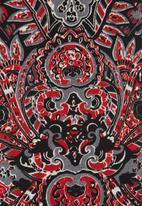 Revenge - Printed tunic Red