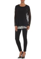 G Couture - Combo top Black