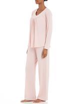 Lila Rose - V-neck gathered set Pale Pink