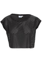 edge - Cropped T-shirt Black