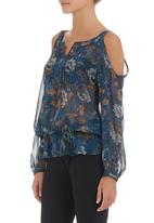 Soto - Cold shoulder top