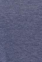 edge - Cropped T-shirt Mid Blue