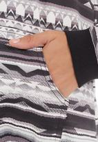 edge - Hooded top Mid grey