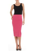 STYLE REPUBLIC - High-waisted pencil skirt