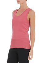 Passionknit - Knit tank Pink (mid pink)