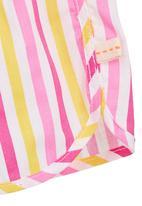 Adeva - Striped pyjama set Pink (dark pink)