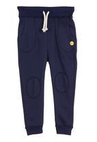 Adeva - Track pants Navy