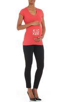 Kicker Clothing - Short-sleeved T-shirt Coral