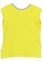 Adeva - Girls T-shirt Grey/ Yellow