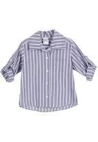 Just chillin - Striped shirt Blue/White