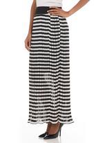 G Couture - Striped skirt Black/White