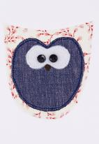 Pickalilly - Owl diaper set Red