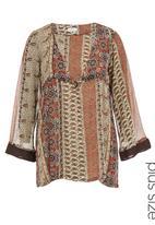 edit - Paisley-print tunic Multi-colour
