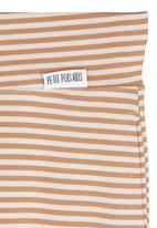 Petit Pois - Striped joggers Neutral