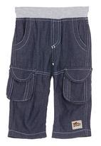 Just chillin - Denim pants Navy