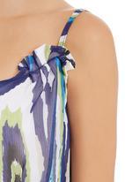 edit - iKat-printed tunic Multi-colour
