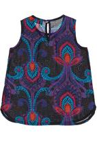 YhoYho - Paisley-printed top Multi-colour