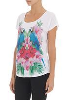 SASS - Parrot T-shirt White