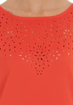 FATE - Playing With Fire blouse Orange