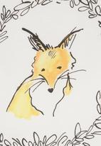 Petit Pois - Fox-print T-shirt Neutral