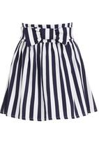 Blackeyed Susan - Wonderland skirt Blue/White