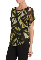 GUESS - Geo texture top