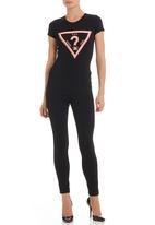 GUESS - Neon triangle T-shirt