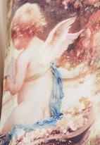 Cheryl Arthur - Top with cherubs print Multi-colour